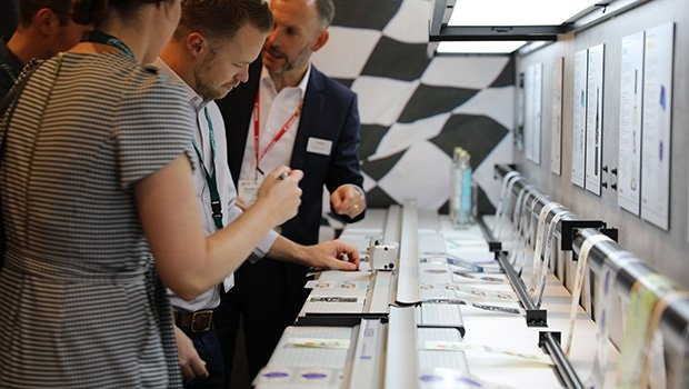 Label print applications at the Canon stand at Labelexpo Europe 2019